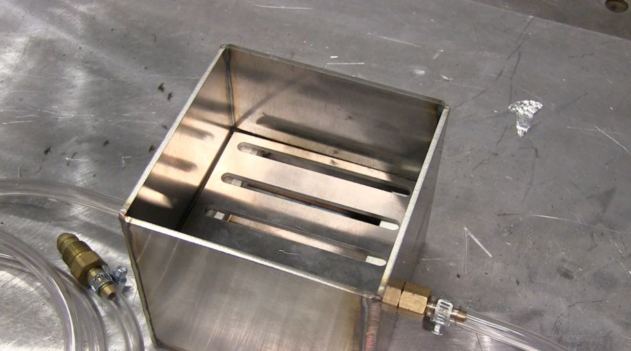 Tig Welding A Small Parts In A Purge Box