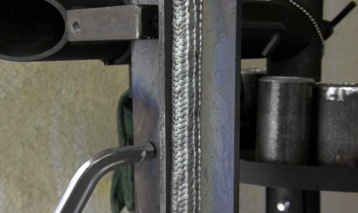 Mig Welding Basics Part 6 Vertical Uphill Tee Joint Drill