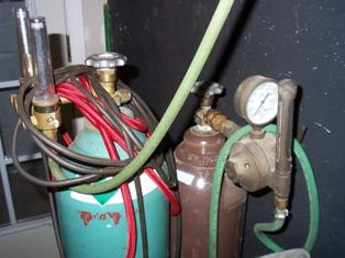 argon welding cylinder