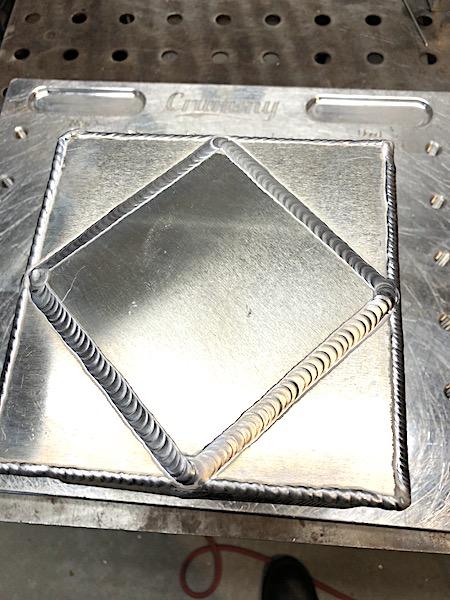 aluminum lap joint weld