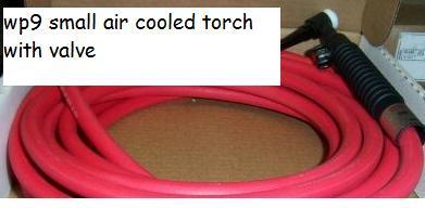 air cooled tig torch wp9v
