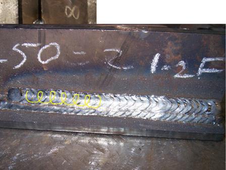 horizontal mig welding technique