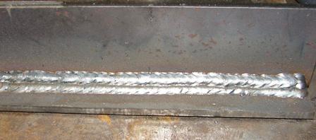 welding steel with mig