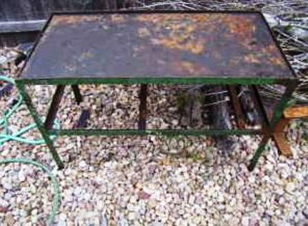 light duty welding table