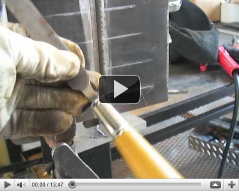 stick welding test