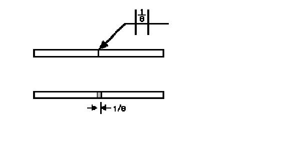 square groove weld symbol