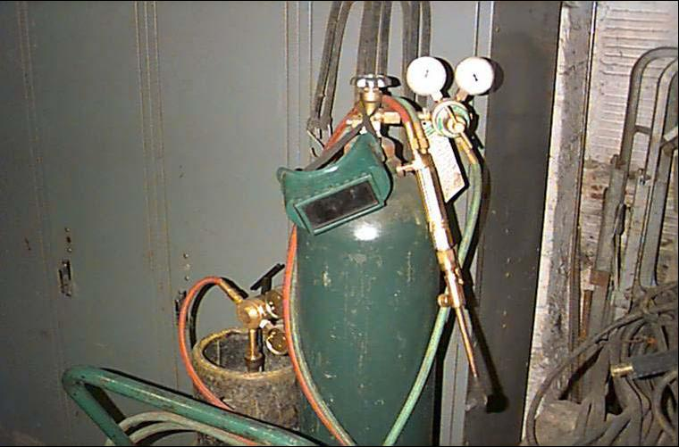 oxy acetylene cutting torch