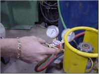 acetylene oxygen tanks