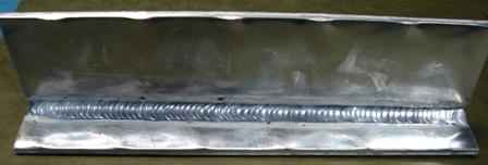 aluminum tig weld