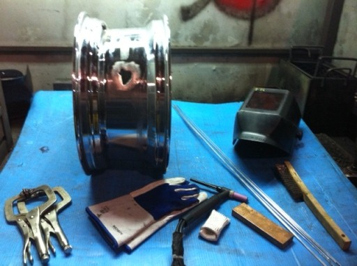 aluminium wheel repair