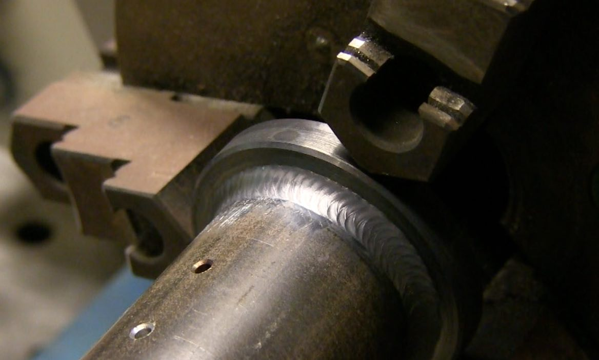 Tig welding 4130 steel - The First Job I Did With The Ahp Alpha Tig Welder Was Some Carbon Steel Parts That I Could Set Up On My Turntable