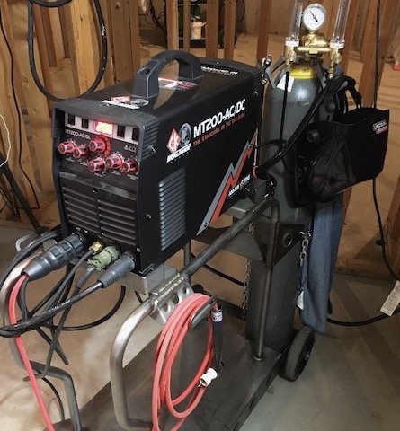 ck mt200 welder on ztfab cart