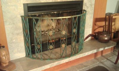 decorative fireplace screen - Decorative Fireplace Screens