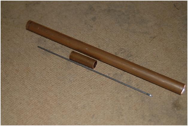 gas tungsten electrode holder copper tube