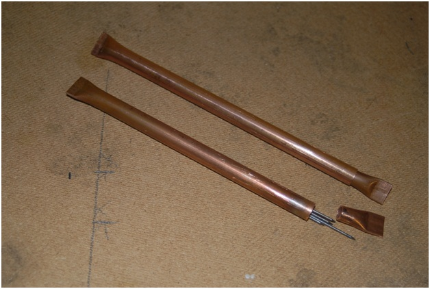tungsten electrode holder copper
