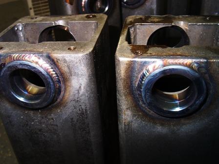 multiprocess welder welds