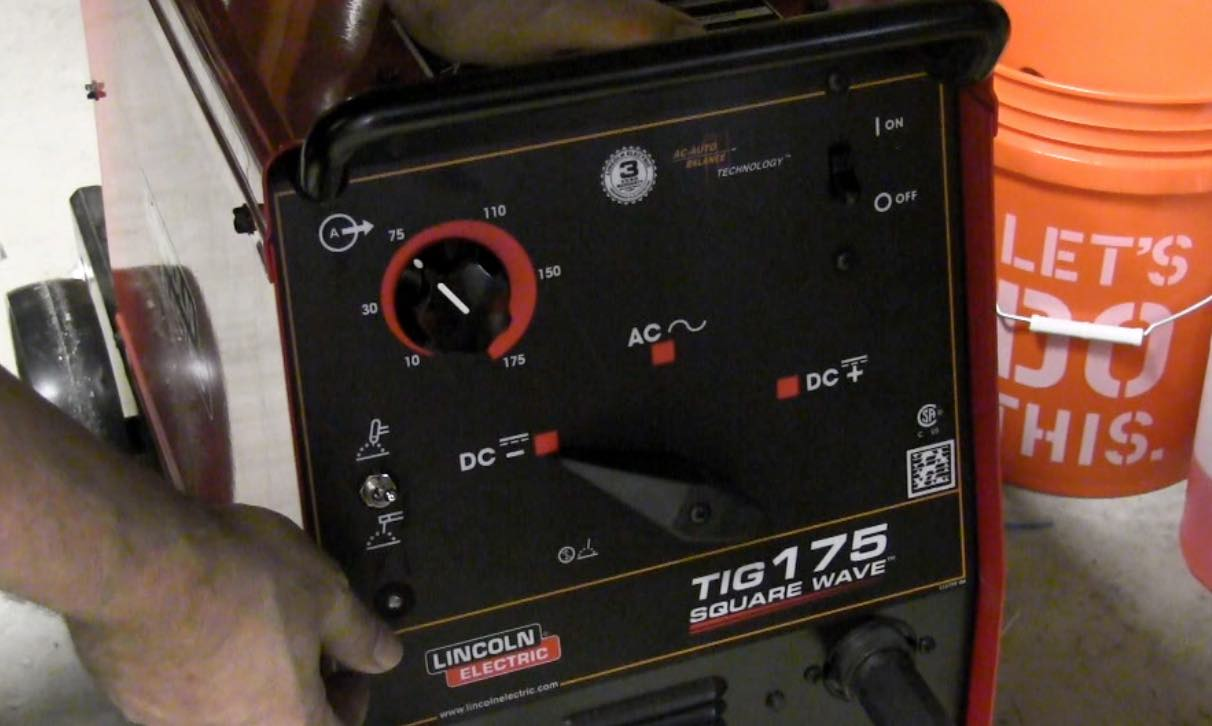 arc sold new full square window item welder in tig welders size auction lincoln wave