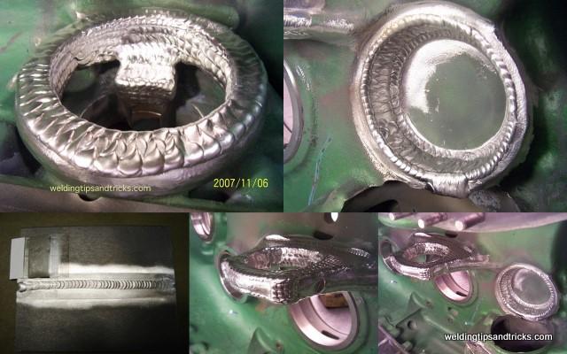 magnesium weld pictures