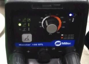 Maxstar 150 stl problems