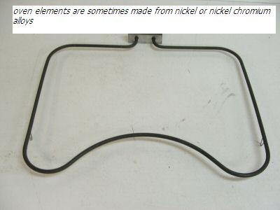 nickel chromium alloy oven element
