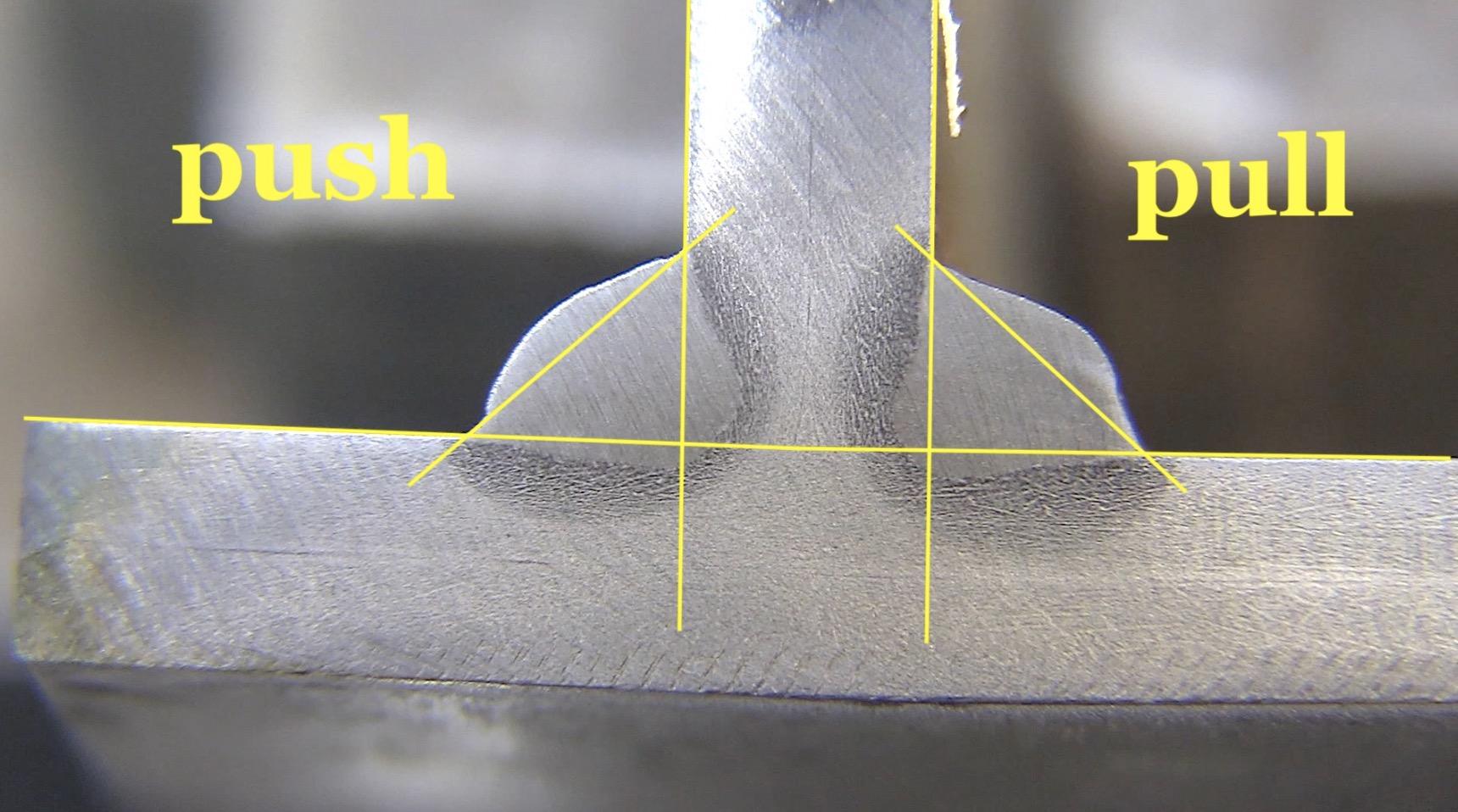 miller multimatic 220 ac dc push pull fillet weld