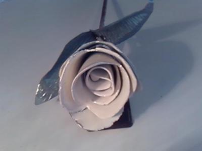 Sheet Metal Roses
