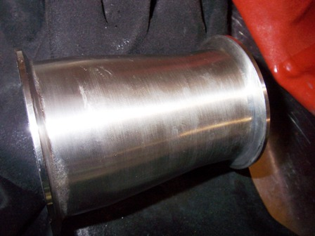 stainless steel pipe welds polishing