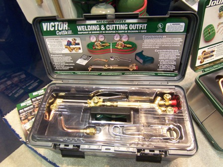 gas weldng kit