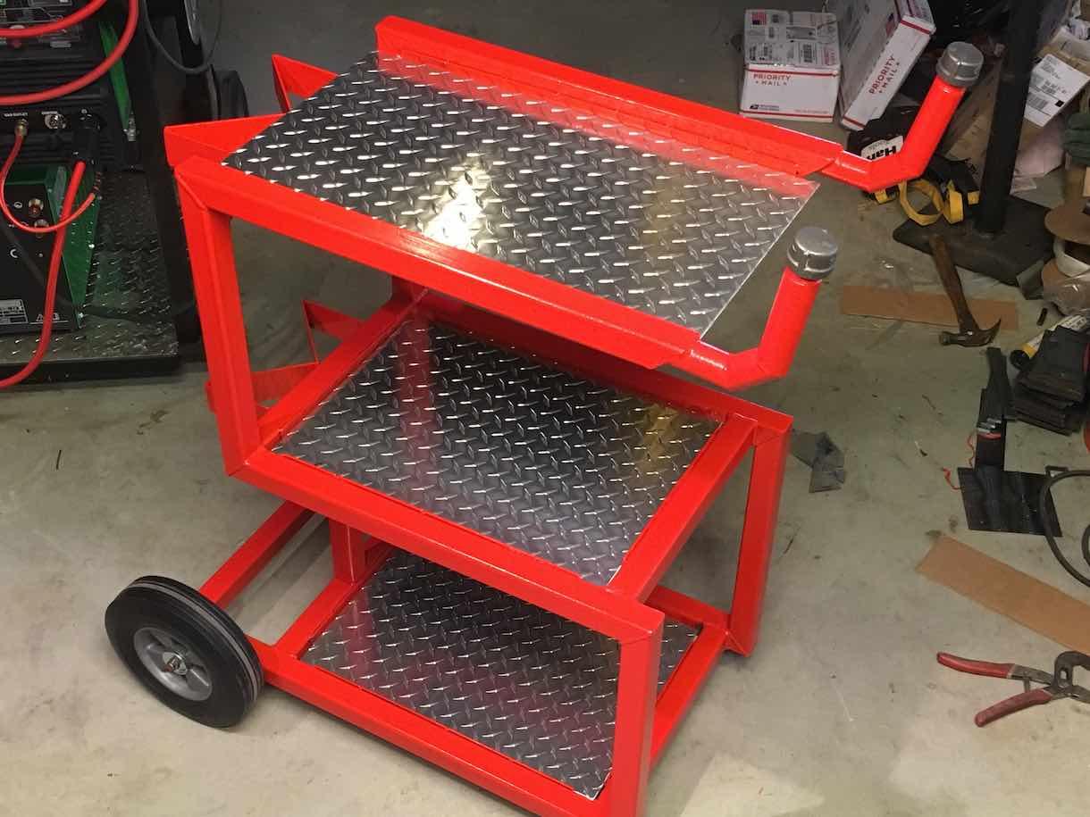 Open Concept Welding Cart Part 3