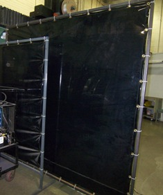 welding screen curtain