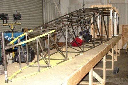 welding chromoly airframe