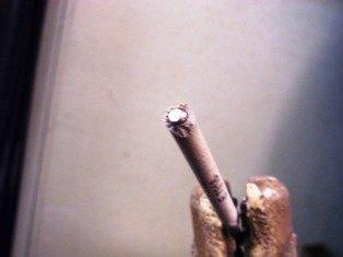 7018 welding rod filed for restart
