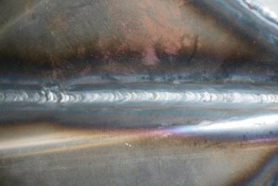 One of my better welds.  Could still be better but it works.