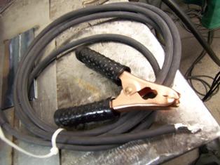hobart trek 180 ground clamp