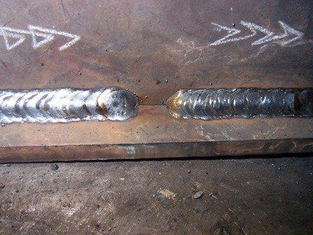 mig welding technique