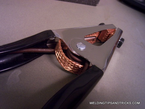miller ground clamp mig welding