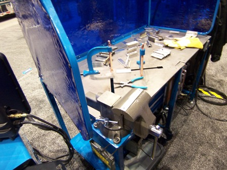 miller welding table arcstation