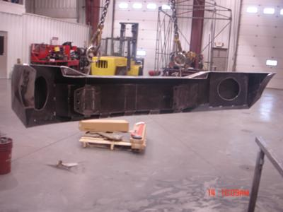 welding project dodge ram bumper