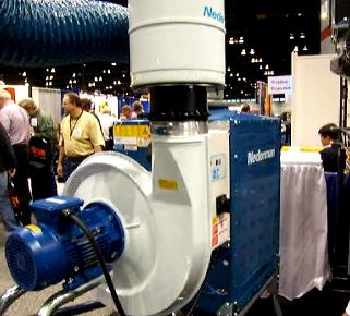 welding fume extractor system by nederman