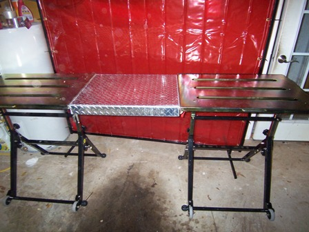 foldable welding table