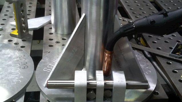 mig welding thick aluminum