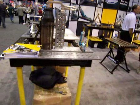 strong hand welding tables