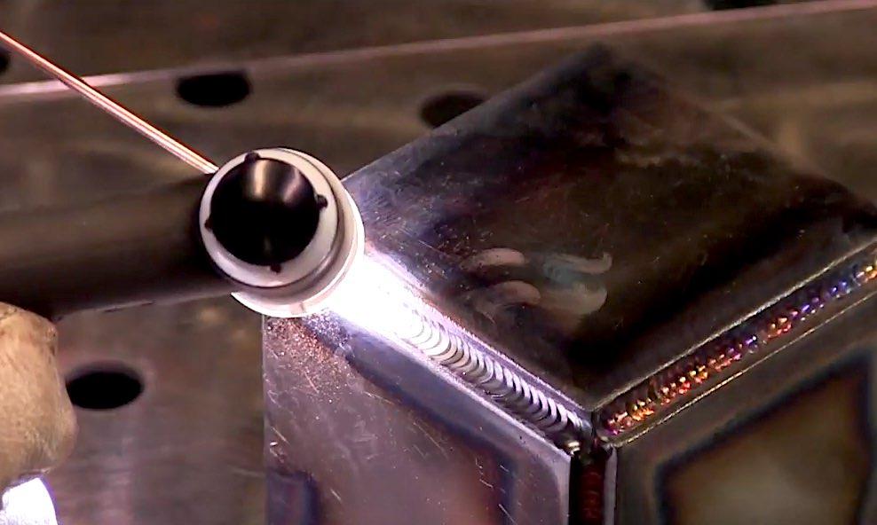 Tig Brazing A Steel Cube