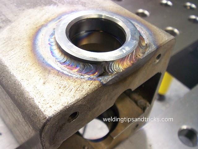 steel tig weld