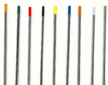 thoriated electrodes